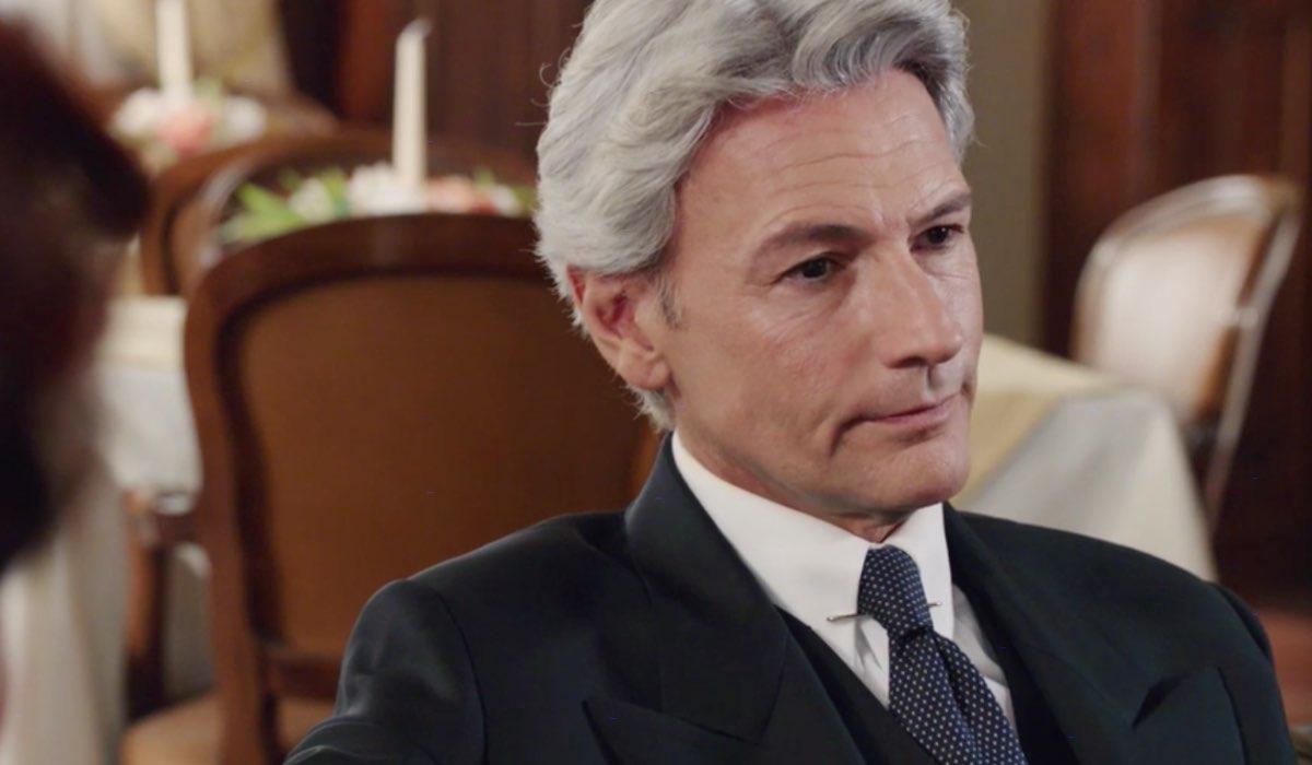 Il Paradiso delle Signore 5 Umberto interpretato da Roberto Farnesi qui nella puntata 1 Credits RAI