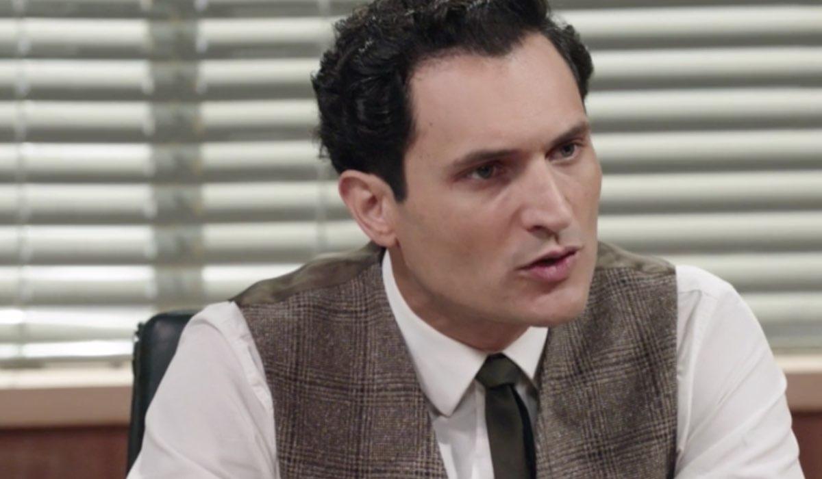 Il Paradiso delle Signore 5 Vittorio Conti interpretato da Alessandro Tersigni, qui nella puntata 6 Credits RAI
