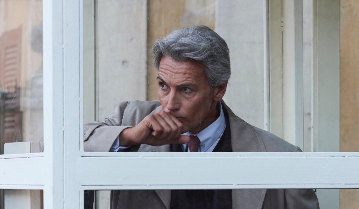 Il Paradiso delle Signore Umberto Guarnieri interpretato da Roberto Farnesi, qui in una scena della stagione 4 o Daily 2 Credits RAI