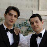 Il Paradiso delle Signore, i soci e amici Marcello e Salvatore interpretati da Pietro Masotti e Emanuel Caserio, qui in un posato Credits RAI