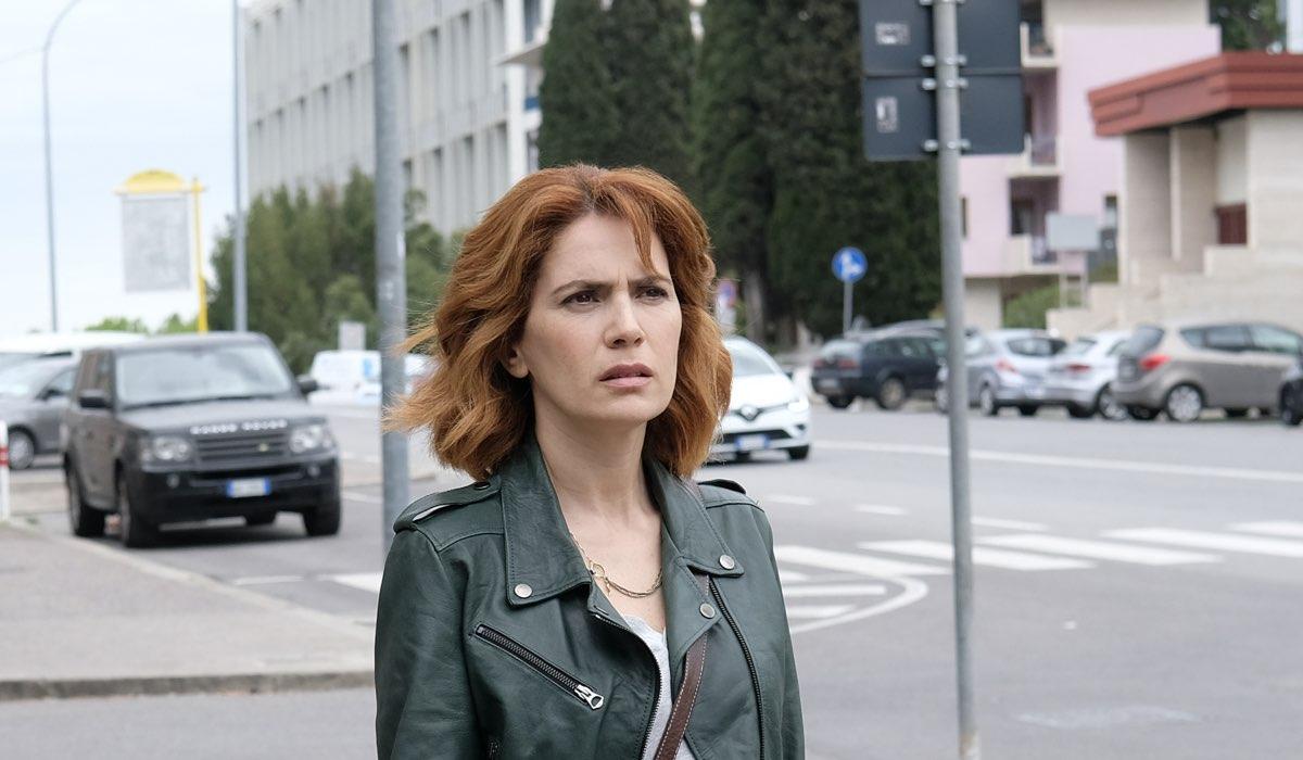 Io ti cercherò Sara interpretata da Maya Sansa Credits Fabrizio de Blasio e RAI