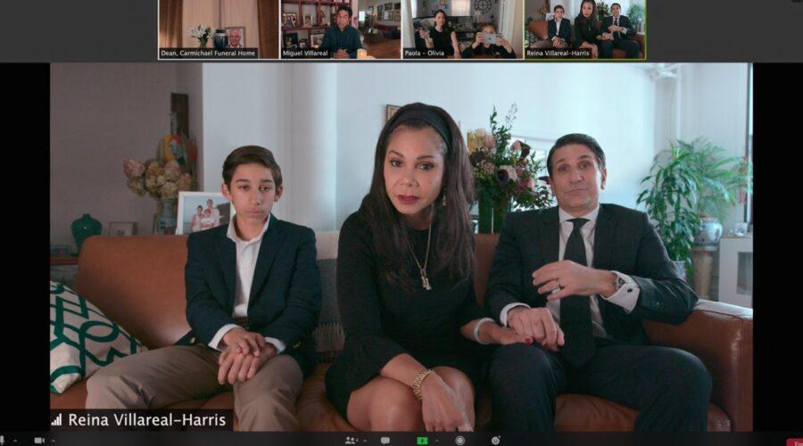 Oscar Nunez, Camila Perez, Gianna Aragon, Luca Costanzo, Daphne Rubin-Vega e Tom Costanzo in Social Distance serie tv Credits Netflix