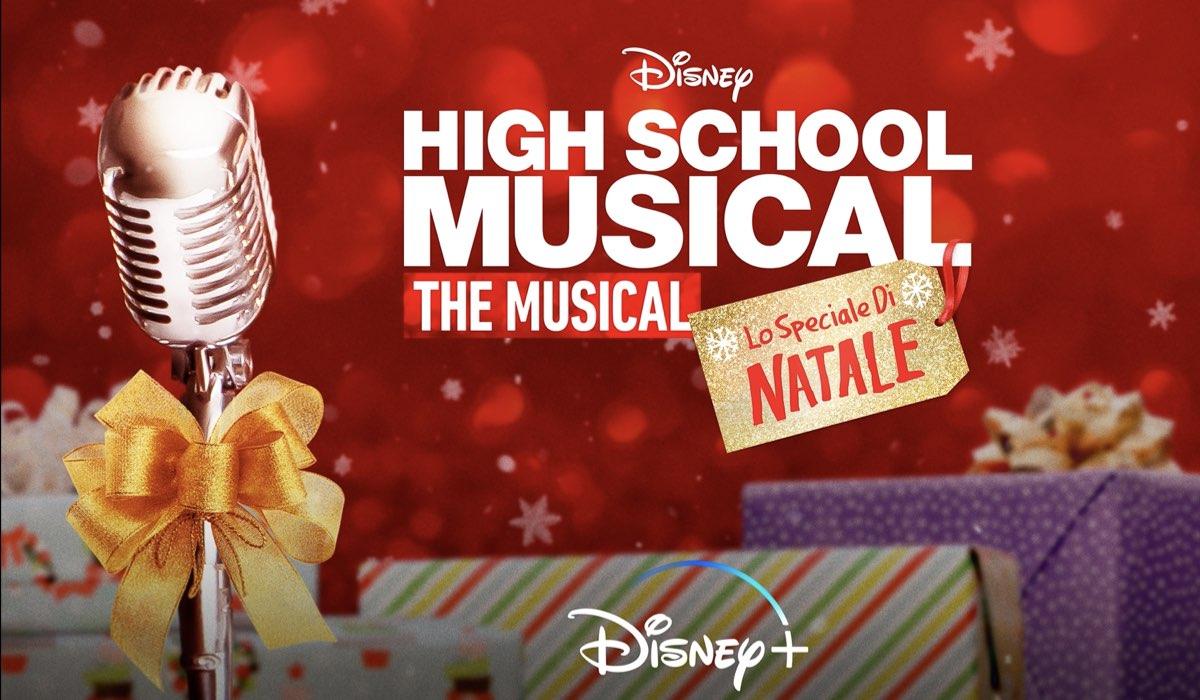 Poster di High School Musical The Musical Lo Speciale di Natale. Credits: Disney+.