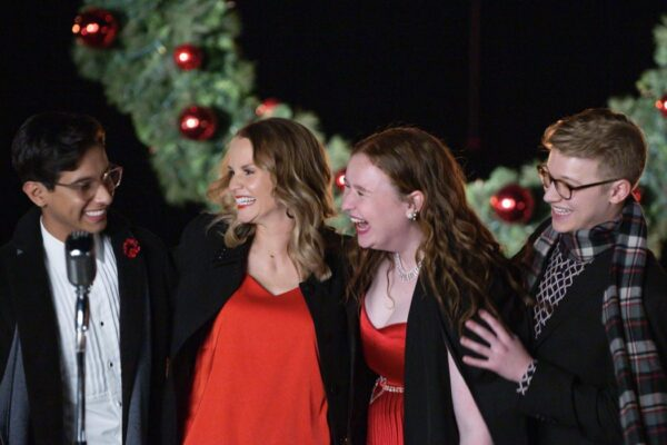 Una scena di High School Musical The Musical Lo Speciale di Natale. Credits: Disney+.