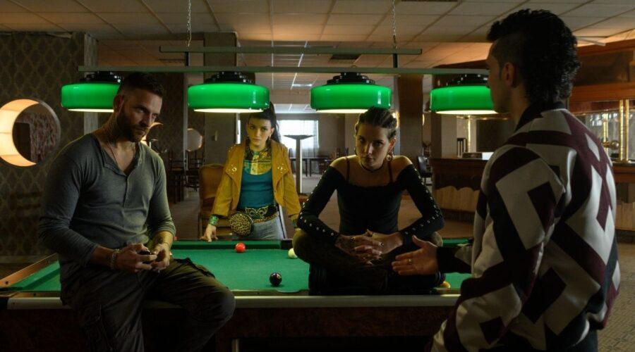 Una scena di Suburra 3 stagione Credits Netflix