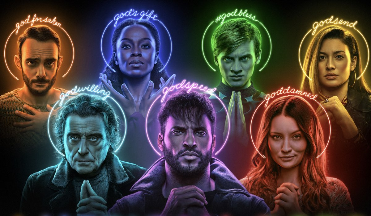 Poster di American Gods 3. Credits: Fremantle/Starz/Amazon Prime Video.