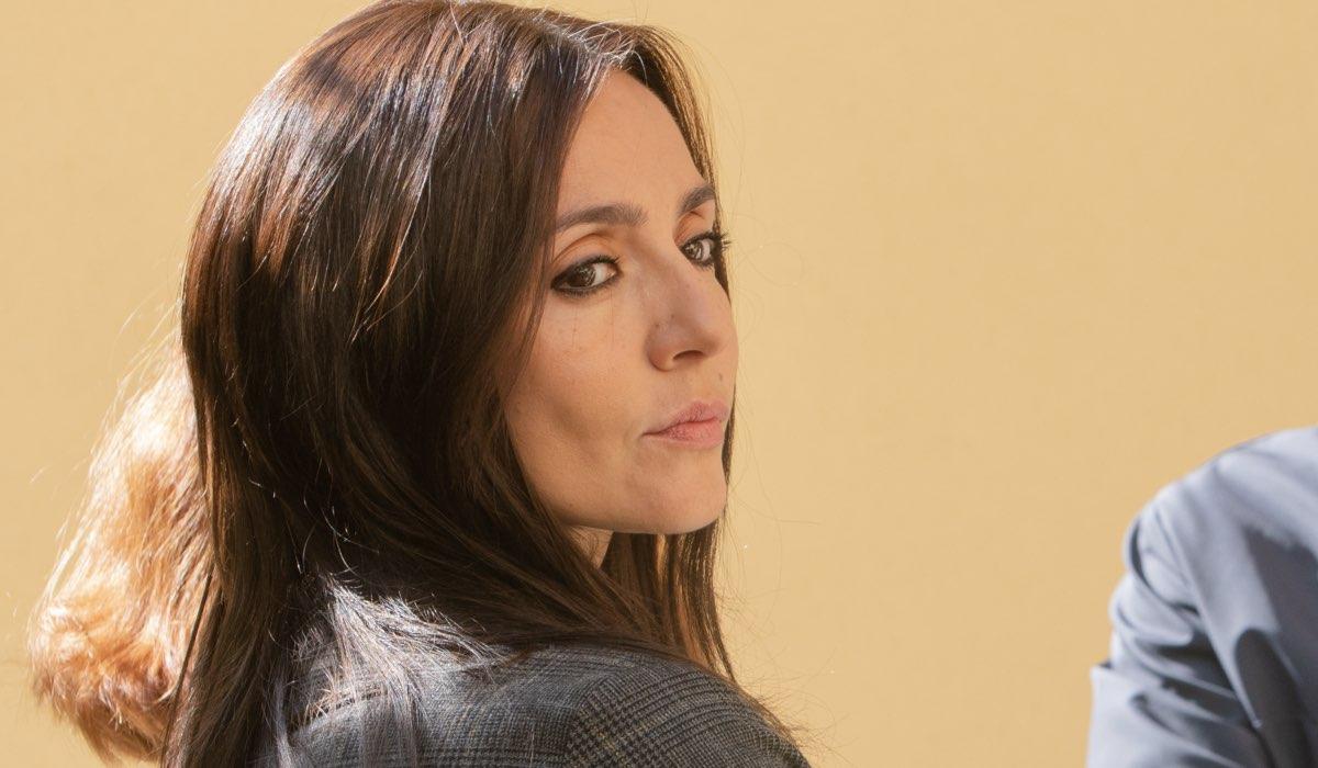 Ambra Angiolini è Luisa Ferrari ne Il silenzio dell'acqua 2 stagione Credits Mediaset
