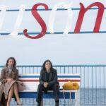Ambra Angiolini e Barbara Chichiarelli ne Il silenzio dell'acqua 2 stagione Credits Mediaset