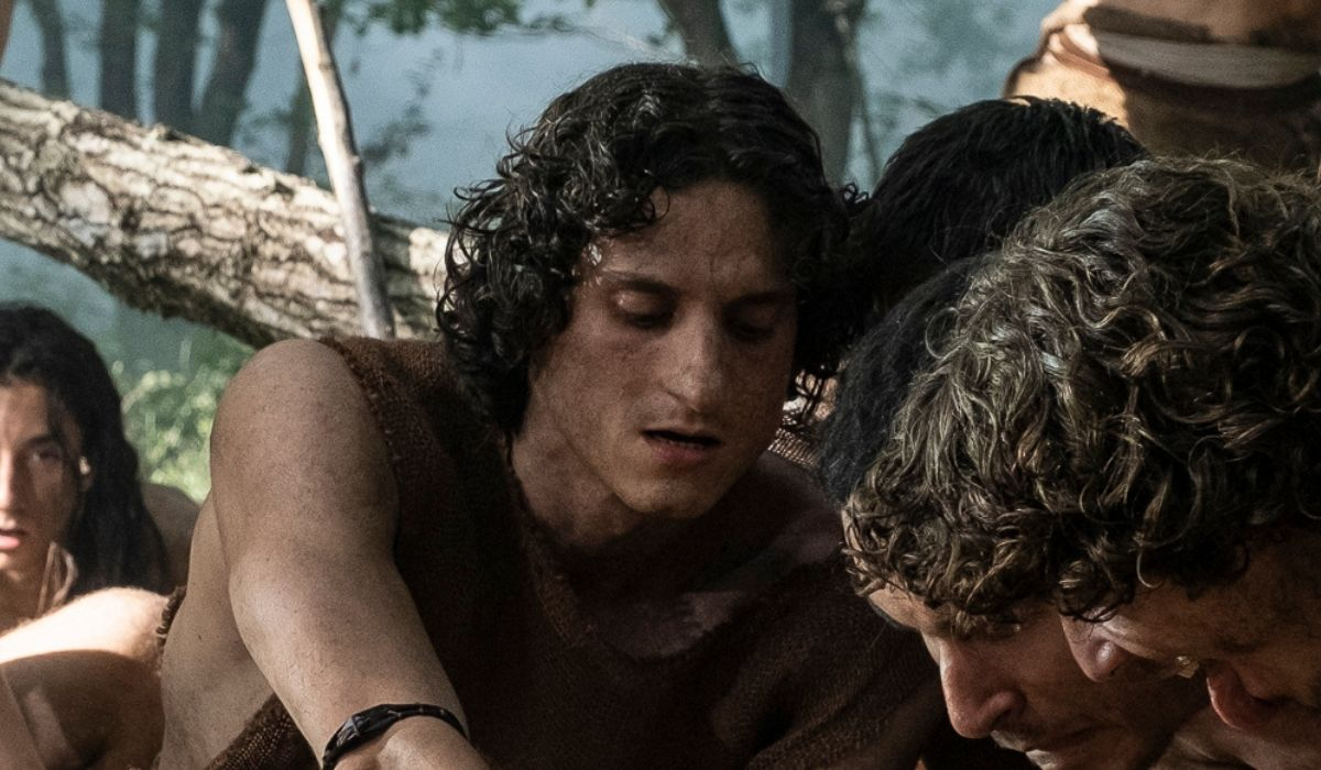 Antonio Bannò è Taurus in Romulus Credits Francesca Fago e Sky