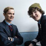 Da sinistra: Otto Farrant e Brenock O'Connor in Alex Rider. Credits: Sony Pictures Television e Amazon Prime Video.
