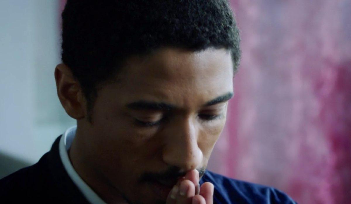 Doc - Nelle tue mani Gabriel Kidane interpretato da Alberto Malanchino, qui nell episodio 15 intitolato Perdonare e Perdonarsi Credits RAI