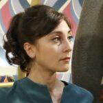 Elisa Cheli interpreta la venere Paola Galletti ne Il Paradiso delle Signore, qui in una scena della stagione Daily 2 Credits RAI