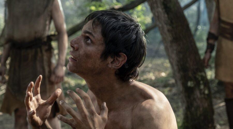 Francesco Di Napoli è Wiros in Romulus, episodio 3 Credits Francesca Fago e Sky