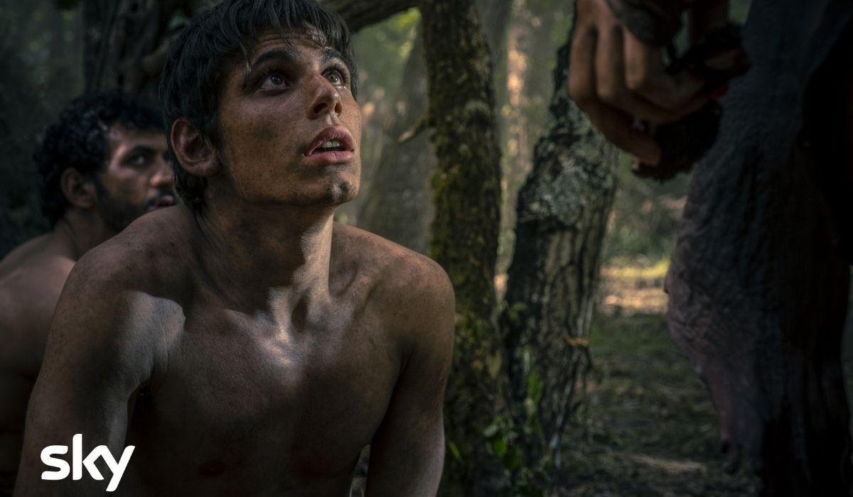 Francesco Di Napoli è Wiros in Romulus Credits Francesca Fago e Sky