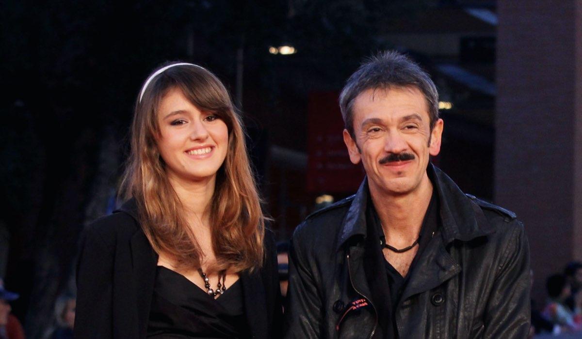 Gianluca Maria Tavarelli con sua figlia Zoe Tavarelli alla premiere de Le Cose Che Restano al quinto Roma Film Festival nel 2010 Credits Ernesto Ruscio e Getty Images