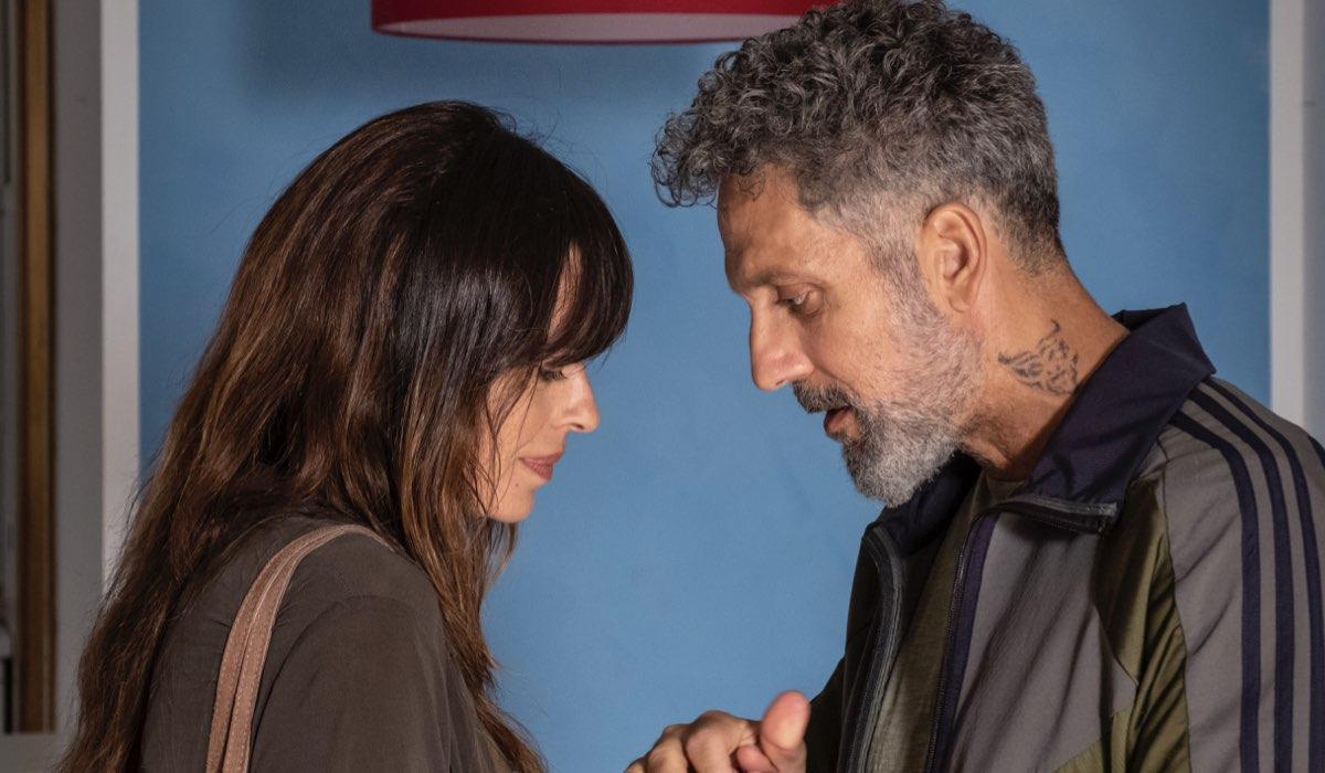 Gli orologi del diavolo Alessia e Marco interpretati da Claudia Pandolfi e Giuseppe Fiorello Credits Anna Camerlingo e RAI