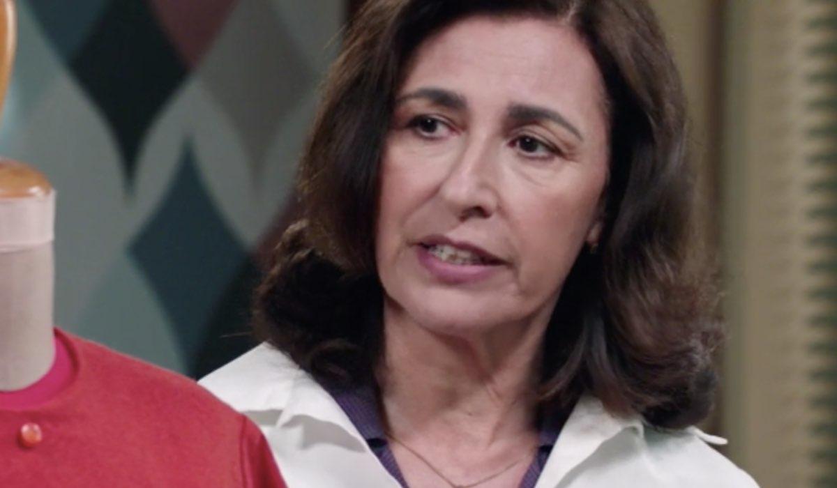 Il Paradiso delle Signore 5 Agnese Amato interpretata da Antonella Attili in una scena della puntata 18 Credits RAI