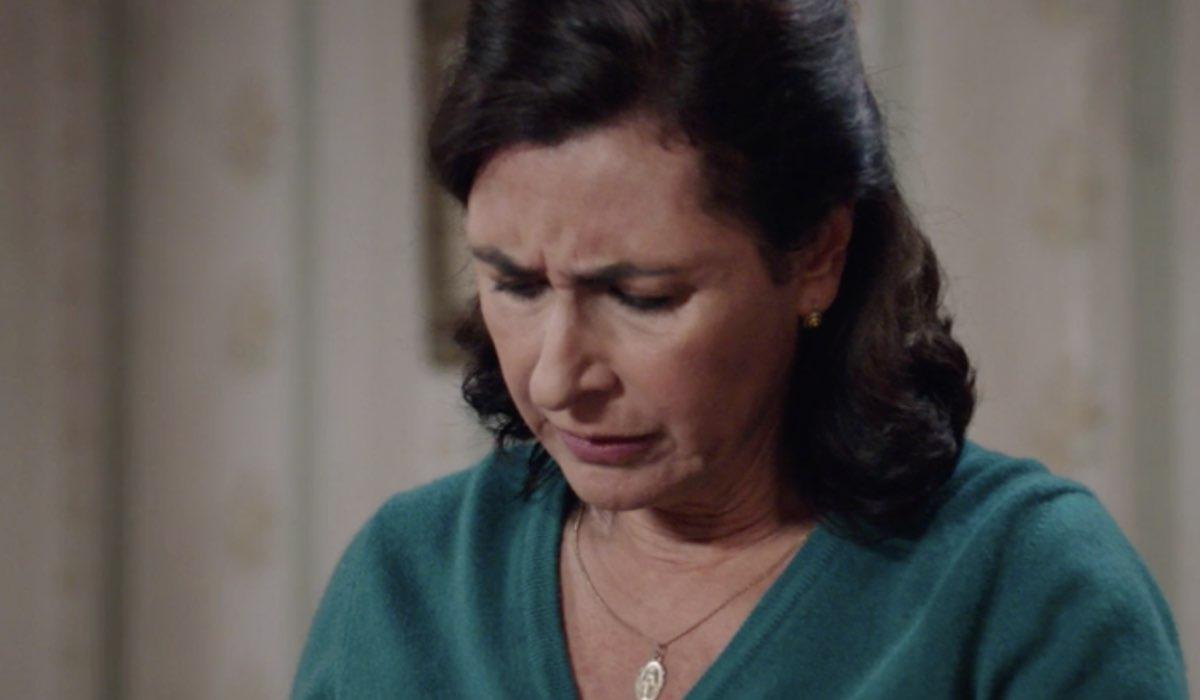 Il Paradiso delle Signore 5 Agnese Amato interpretata da Antonella Attili in una scena della puntata 19 Credits RAI