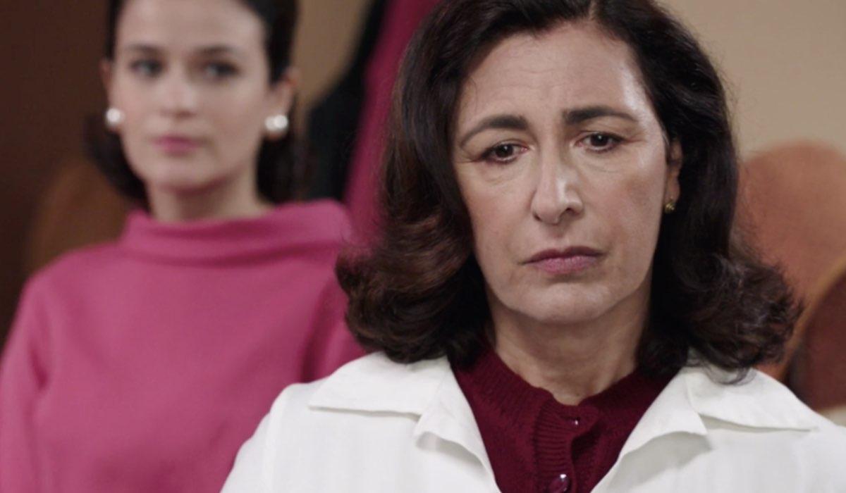 Il Paradiso delle Signore 5 Gabriella Rossi e Agnese Amato interpretate rispettivamente da Ilaria Rossi e Antonella Attili, qui nella puntata 20 Credits RAI