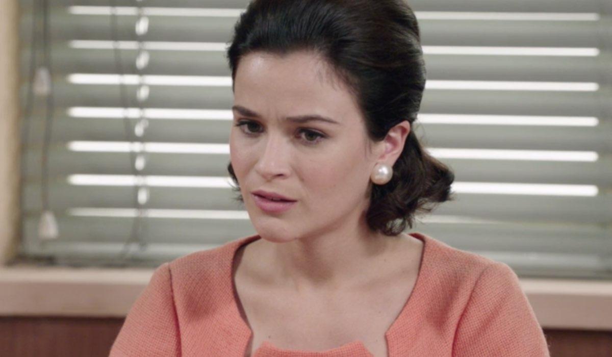 Il Paradiso delle Signore 5 Gabriella Rossi interpretata da Ilaria Rossi, qui nella puntata 19 in Atelier Credits RAI