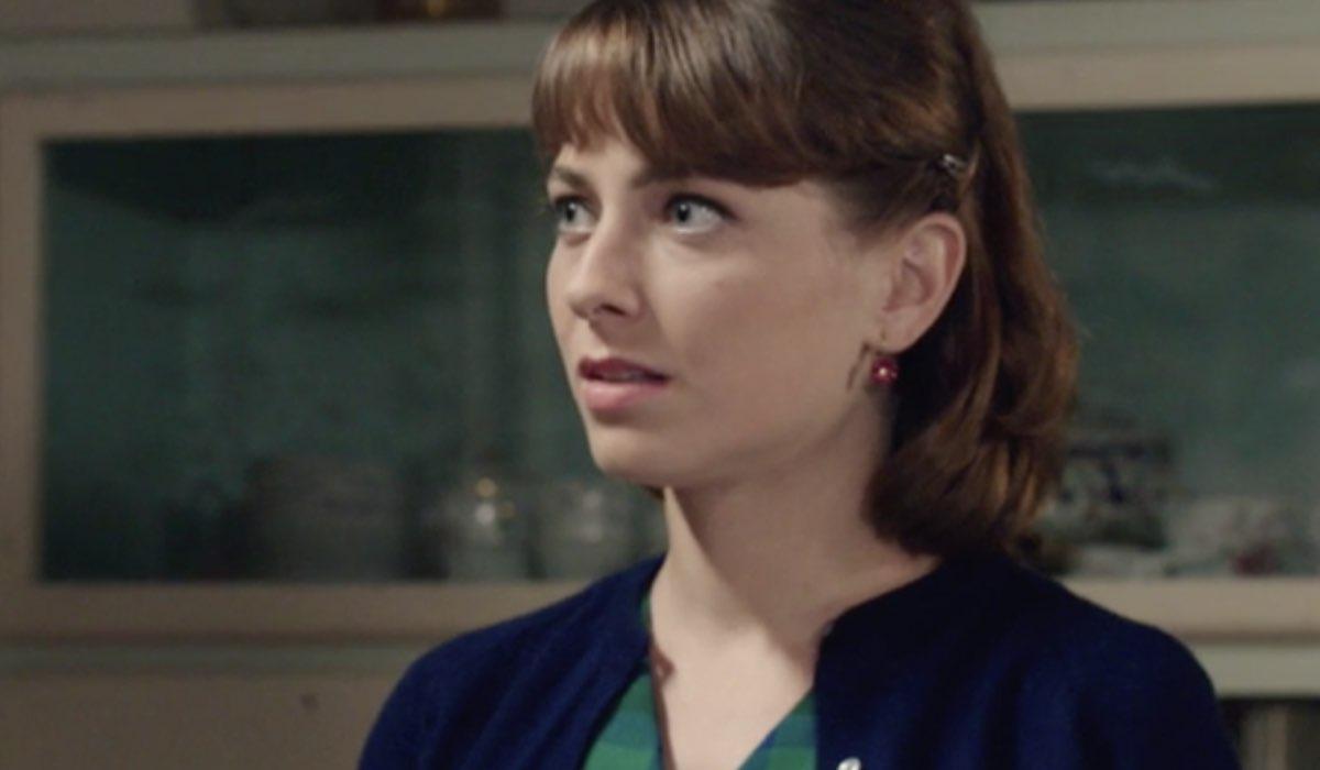 Il Paradiso delle Signore 5 Roberta Pellegrino interpretata da Federica De Benedittis, qui nella puntata 15 Credits RAI