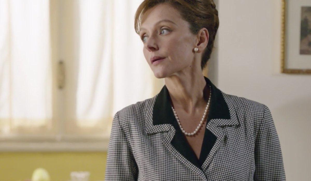 Il Paradiso delle Signore 5 Silvia Cattaneo interpretata da Marta Richeldi, qui nella puntata 13 Credits RAI