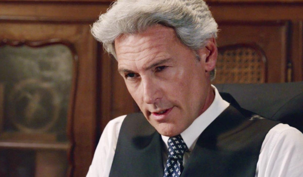 Il Paradiso delle Signore 5 Umberto Guarnieri interpretato da Roberto Farnesi, qui nella puntata 21 Credits RAI