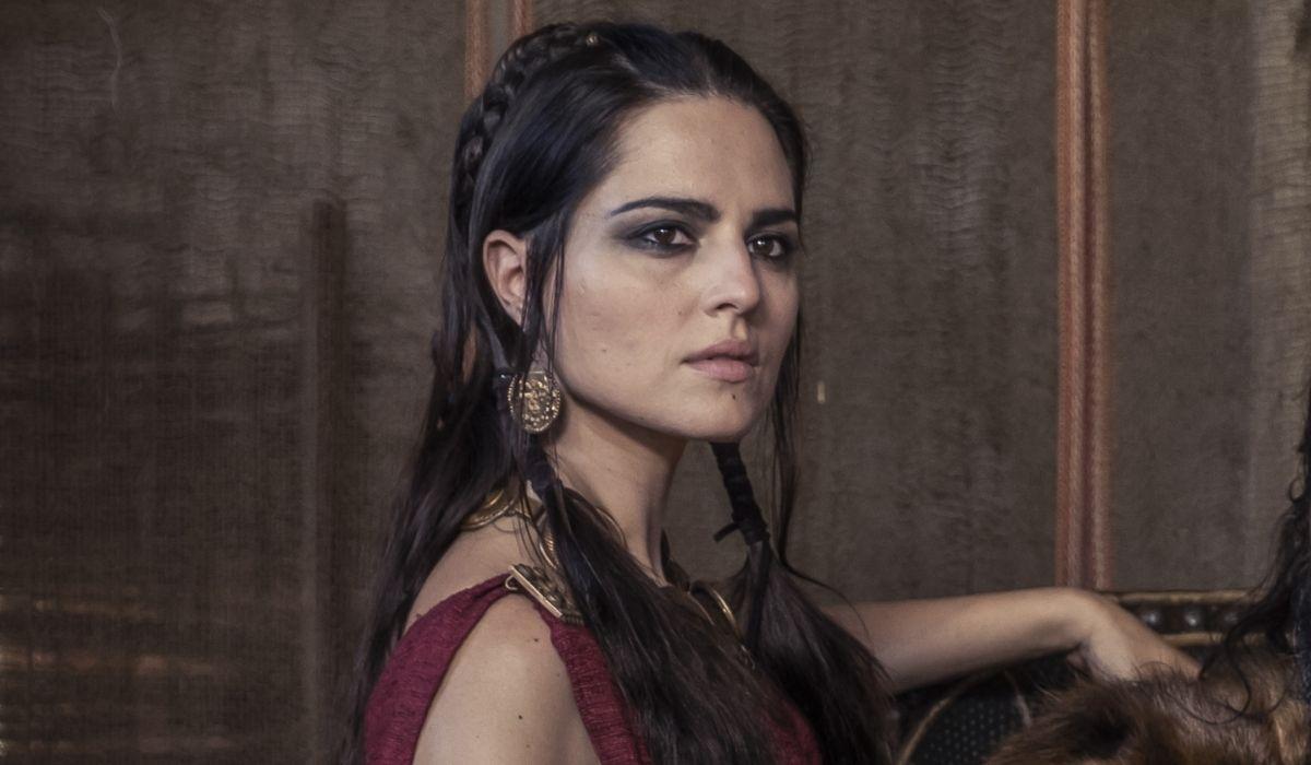 Ivana Lotito è Gala in Romulus Credits Francesca Fago e Sky