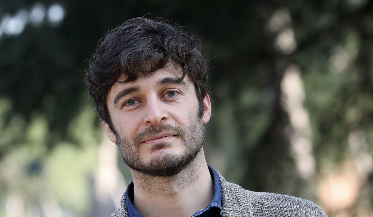 Lino Guanciale al servizio fotografico per La Porta Rossa nel 2017 Credits Elisabetta A. Villa e Getty Images