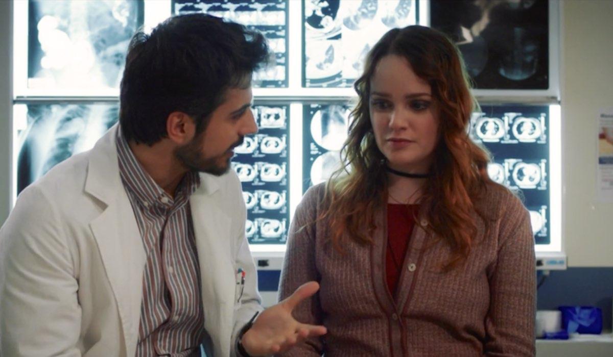 Lorenzo e Chiara in Doc - Nelle tue mani nell'episodio 14 dal titolo Perdonare e Perdonarsi Credits RAI