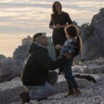 Luisa Ferrari (Ambra Angiolini), Giulia (Jessica Claudi Paun) e Rocco Liverani (Giulio Corso) ne Il silenzio dell'acqua 2 Credits Mediaset