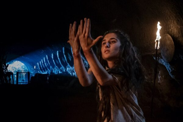 Marianna Fontana è Ilia nell'episodio 4 di Romulus, Credits Francesca Fago e Sky