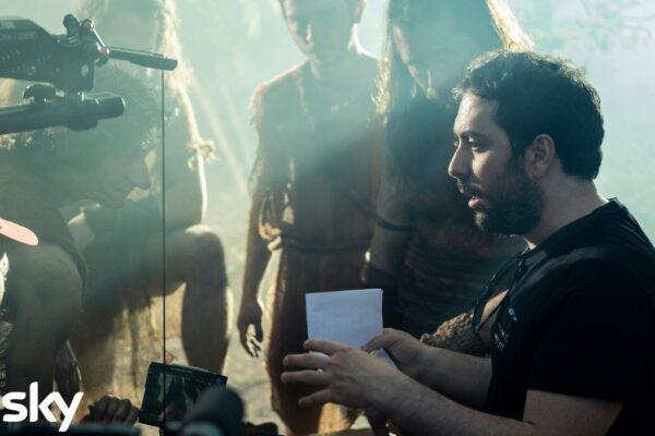 Matteo Rovere dirige Romulus, Credits Francesca Fago e Sky