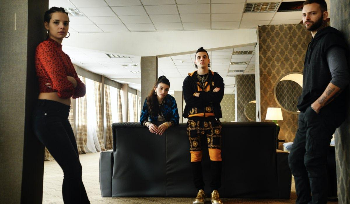Suburra 3 con Alessandro Borghi che interpreta Aureliano e Giacomo Ferrara che interpreta Spadino Credits Emanuela Scarpa e Netflix 2020