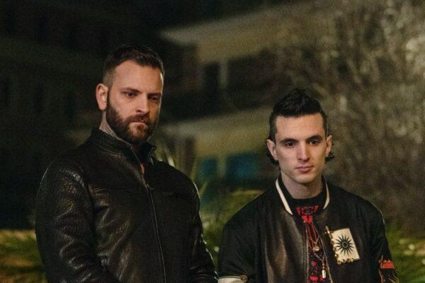 Suburra 3, da sinistra Alessandro Borghi interpreta Aureliano e Giacomo Ferrara interpreta Spadino nell'episodio 1 Credits Emanuela Scarpa e Netflix 2020