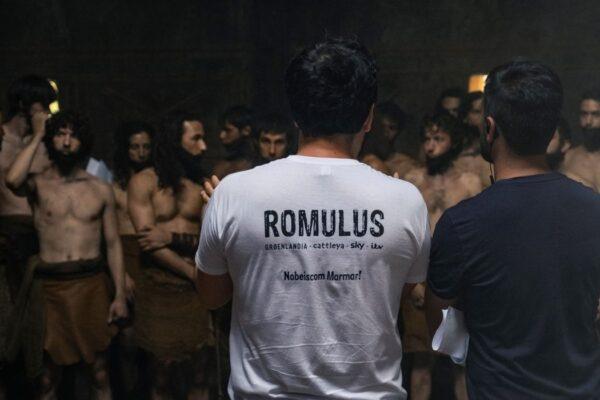 Sul set di Romulus con Matteo Rovere, Credits Francesca Fago e Sky