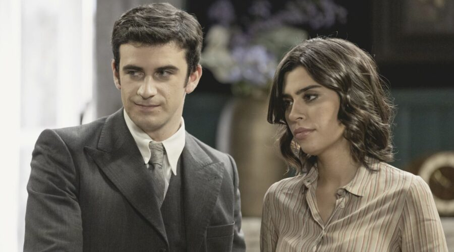 Tomas e Urritia ne Il Segreto Credits Mediaset