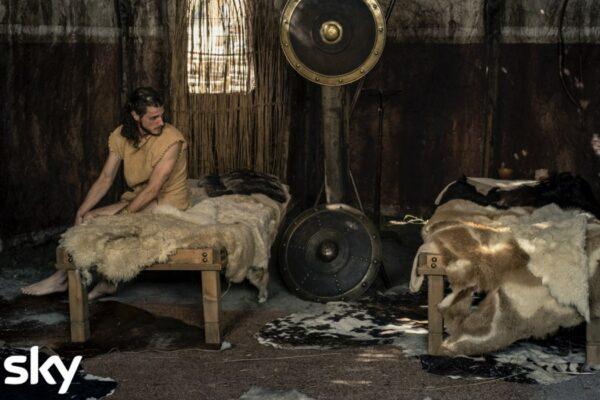 Una scena della serie tv Romulus Credits Francesca Fago e SKY Italia