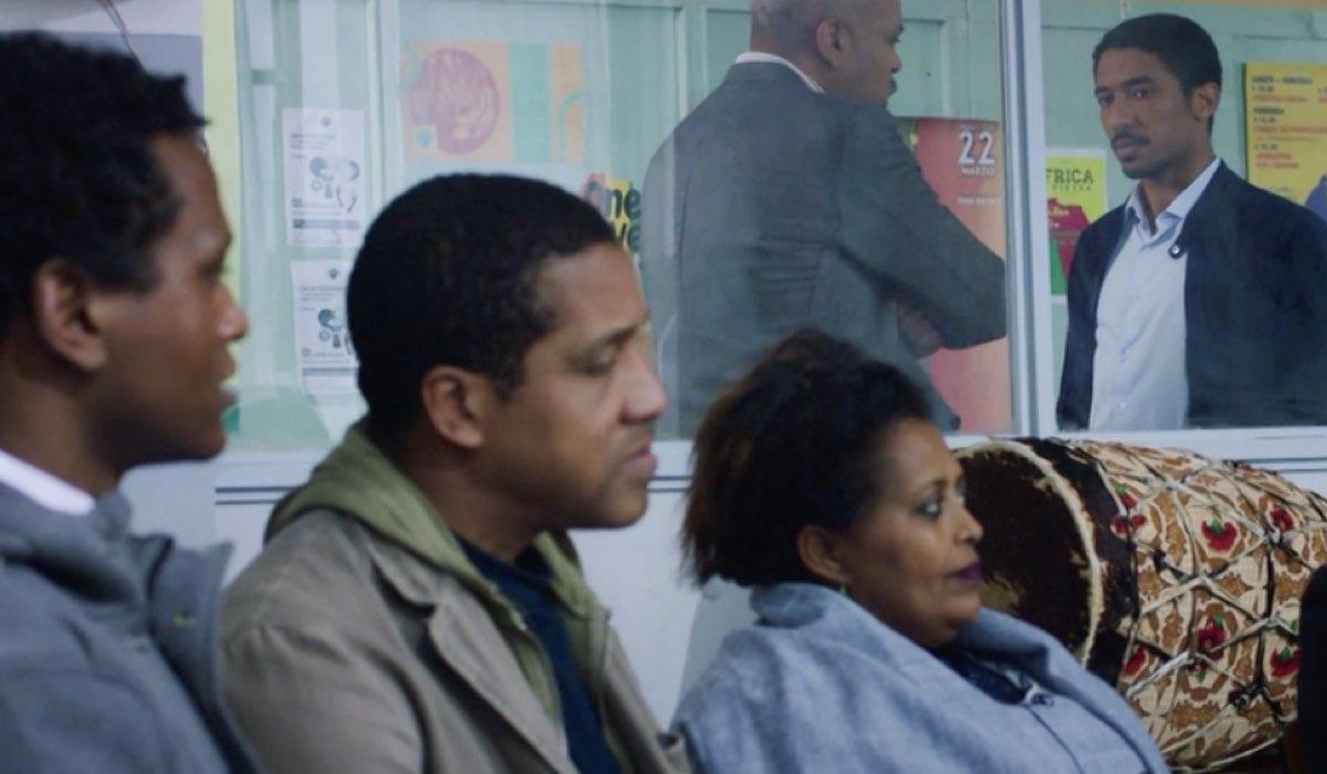 Una scena di Doc - Nelle tue mani con Alberto Malanchino nel ruolo di Gabriel Kidane nell episodio 15 intitolato Perdonare e Perdonarsi Credits RAI