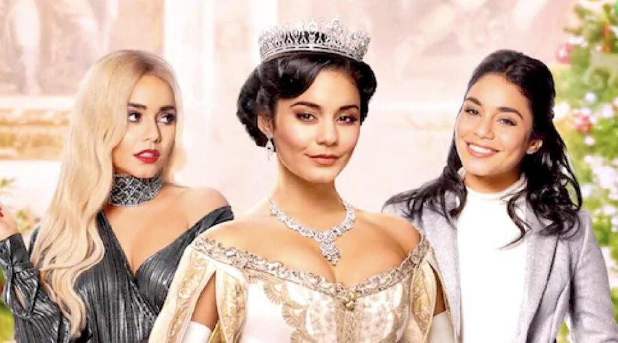 Vanessa Hudgens nel film Nei Panni di Una Principessa 2 credits Netflix