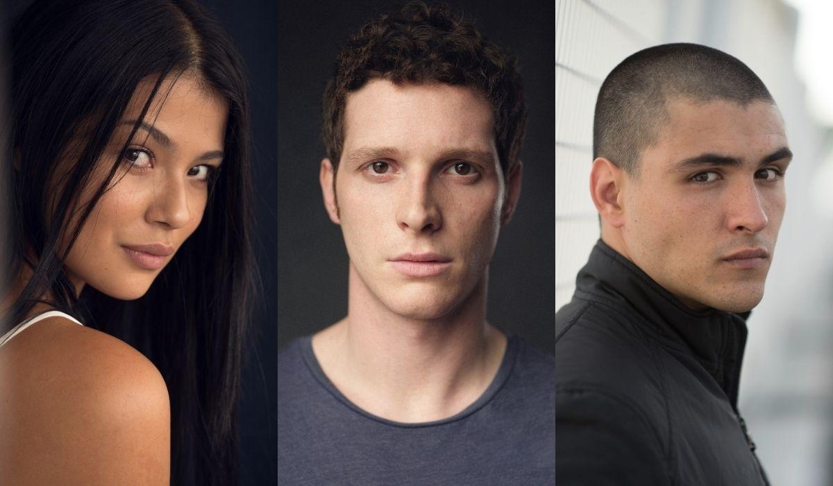 Da sinistra: Laura Osma, Alessandro Piavani e Andrea Dodero. Credits: Sky/Gabriel Camero/Phil Sharp/Paolo Palmieri.