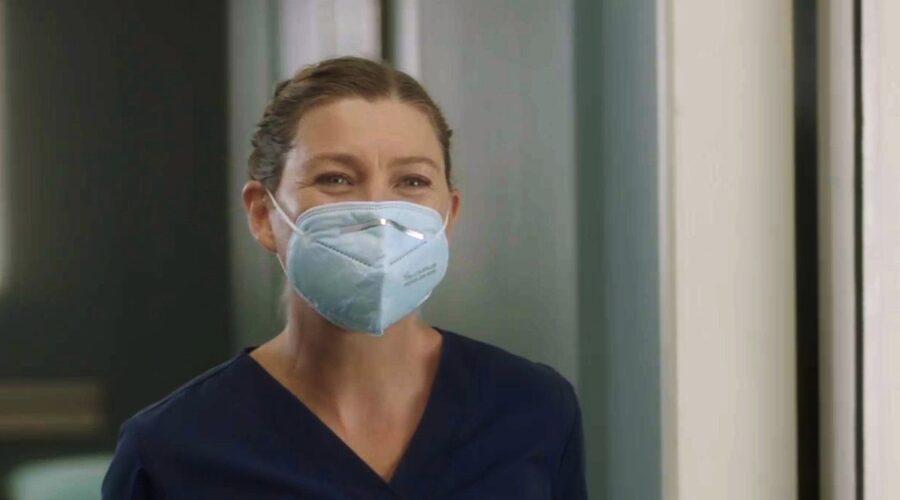 grey's anatomy 2021 stagione diciassette meredith grey interpreta Ellen pompeo credits fox e abc