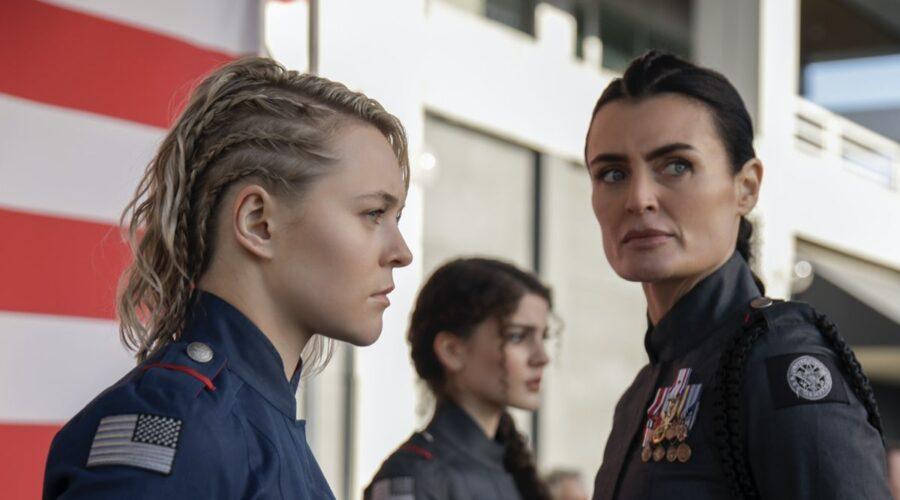 Lyne Renée In Motherland Fort Salem 2 Credits: Amazon Prime Video