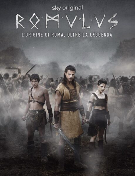 Romulus, il poster della serie tv. Credits: Sky.