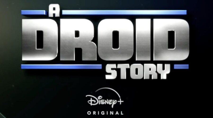Logo di A Droid Story. Credits: Disney Plus/Lucasfilm.