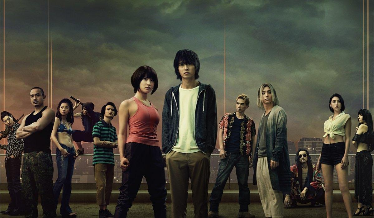 Alice In Borderland, il poster della serie. Credits: Netflix.