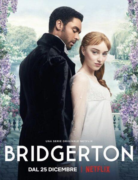 Bridgerton, il poster della serie tv. Credits: Netflix.