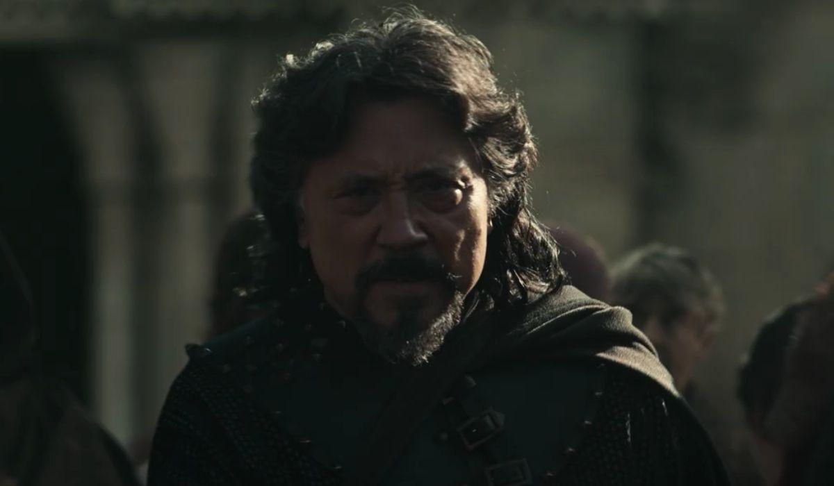 Flaín (Carlos Bardem) in una scena di El Cid episodio 5. Credits: Amazon Prime Video.