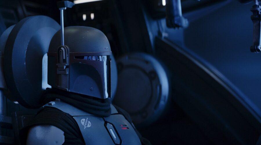 Come finisce The Mandalorian 2: Boba Fett (Temuera Morrison) in una scena del Capitolo 16. Credits: Disney Plus/Lucasfilm.