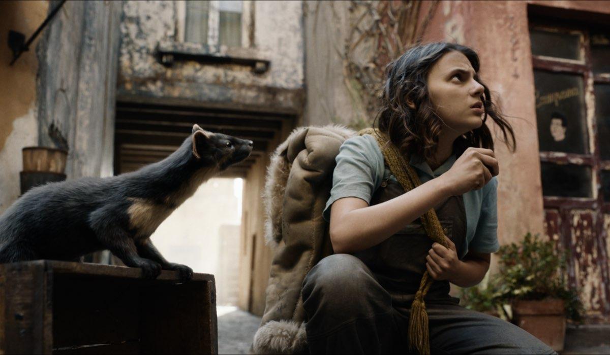 Lyra (Daphne Keene) in una scena di His Dark Material 2. Credits: HBO/Sky.